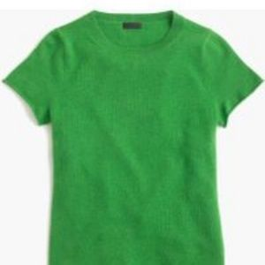 J. Crew Collection Cashmere Short-Sleeve T-shirt S